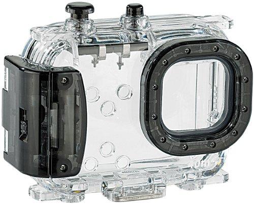 Somikon Unterwassertasche Kamera: Universal-Unterwassergehäuse bis 40 m, Objektiv Links (Wasserdichtes Foto-Kamera-Gehäuse)