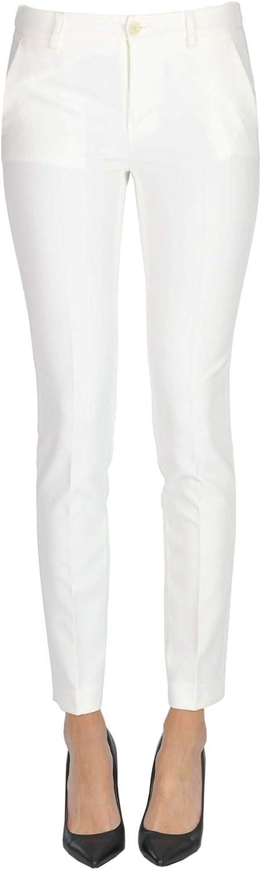 Liu Jo Women's MCGLPNC000006003I White Polyester Pants