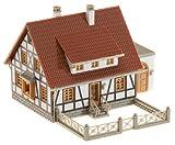 Faller 232215 - Modellismo, casa con intelaiatura a Traliccio e Garage