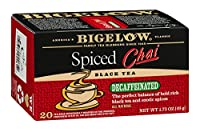 Bigelow Tea Decaf Chai Spiced 20 Bags ( Pack of 12 )