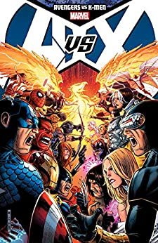 Avengers vs. X-Men Collection by [Brian Michael Bendis, Jason Aaron, Ed Brubaker, Matt Fraction, Jonathan Hickman, Jeph Loeb, John Romita Jr., Adam Kubert, Olivier Coipel, Jim Cheung, John Romita, Frank Cho, Ed McGuinness]