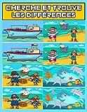 Cherche et trouve les différences: Mon Grand Livre des Différences - 40 pages, + de 300...