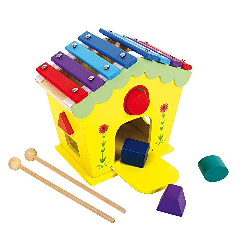 Small foot company - 6620 - Jouet Musical - Maison Jeux Et Sons - Dodoo