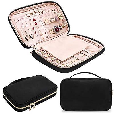 CREATIVE DESIGN Jewelry Organizer, Travel Jewel...