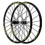 Mountainbike-Laufradsatz, Radfahren Räder for 26 27,5 29 ZollAlloy Double Wall Schnellspanner...