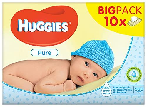 Huggies, Toallitas Para Bebé - Pack De 10 X 56