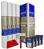WACOLIT-SET 4 Rollen 75m² ERFURT Eco Vlies 150g inkl. 4x