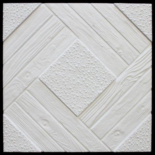 1 M2 de techo placas de poliestireno placas decoración 50 x 50 cm placa de techo de estuco, Duet