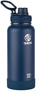 Takeya Insulated Stainless Steel Water Bottle Actives 32 oz Midnight