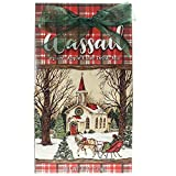 Brownlow Gifts Wassail Apple Cider Drink Mix Church with Horse & Sleigh