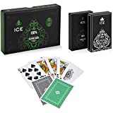 Ice - 100% Plastic Playing Cards | Premium Poker Sized | Professional...