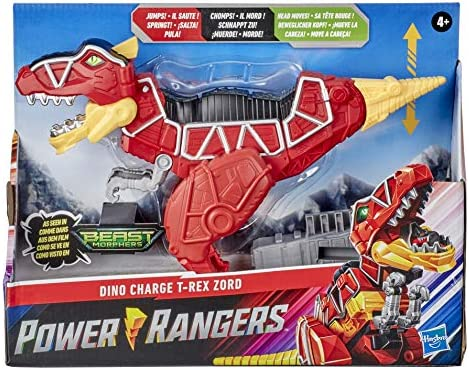 Power Rangers Dino Charge T Rex Zord Toy Inspired by Special Beast Morphers Episode Red Action product image