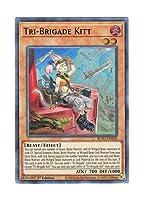 遊戯王 英語版 BLVO-EN010 Tri-Brigade Kitt 鉄獣戦線 キット (スーパーレア) 1st Edition