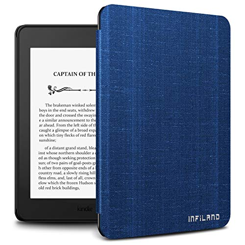 Infiland Kindle Paperwhite 2018 Case Compatible with Amazon Kindle Paperwhite 10th Generation 6 inches 2018 Release(Auto Wake Sleep),Royal Blue