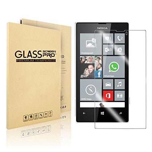 VIMVIP® proteggi schermo in vetro temperato per Nokia Lumia, 0.3mm–HD trasparenza–oleorepellente coating-free Garanzia a vita