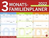 3-Monats-Familienplaner: Jedes Quartal auf einen Blick