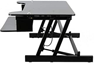 Height Adjustable Home Office Standing Desk, Sit to Stand Desktop Workstation