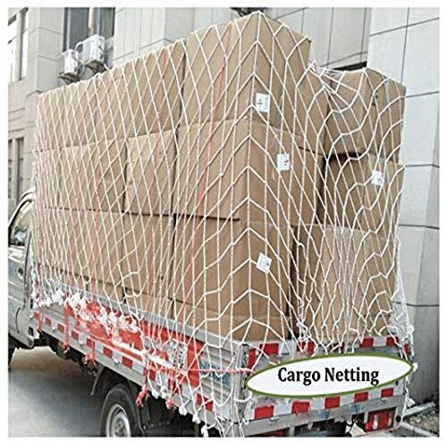 Child Safety Net Protection Climbing Frames Trailer nets, cargo nets, container nets, construction nets, used to secure cargo, prevent children's pets from falling from a height, multi-size, white