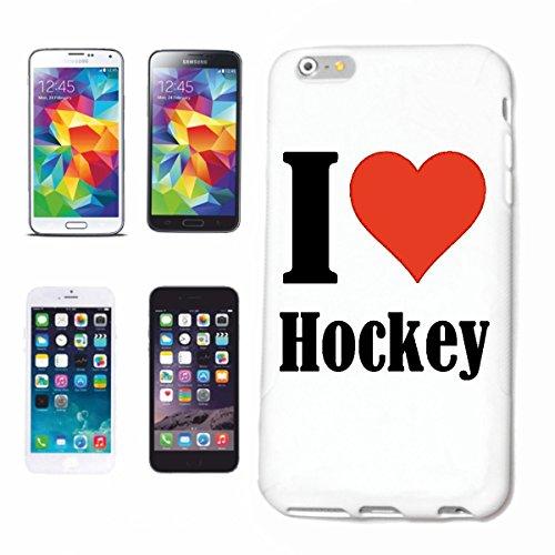 Reifen-Markt Handyhülle kompatibel für iPhone 7 I Love Hockey Hardcase Schutzhülle Handy Cover Smart Cover