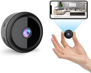 RIRGI Koiteck Cámaras espía Oculta, Cámaras Espía WiFi 1080P HD, con IR Visión Nocturna Detector de Movimiento, Grabadora ...