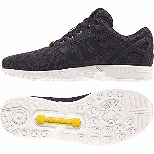 adidas ZX Flux, Unisex-Erwachsene Sneakers, Blau (New Navy/New Navy/Running White), 36 EU