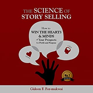 The Science of Story Selling audiobook cover art
