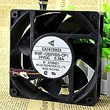 CYRMZAY Ventilador Compatible para Melco MMF-12D24DS-CP1 24V 0.36A ABB Ventilador PLC Ventilador Servidor Ventilador Enfriamiento Ventilador