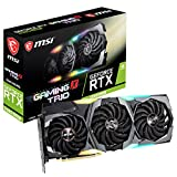 MSI Gaming GeForce RTX 2080 Super 8GB GDRR6 256-Bit HDMI/DP Nvlink Tri-Frozr Turing Architecture Overclocked Graphics Card (RTX 2080 Super Gaming X Trio)