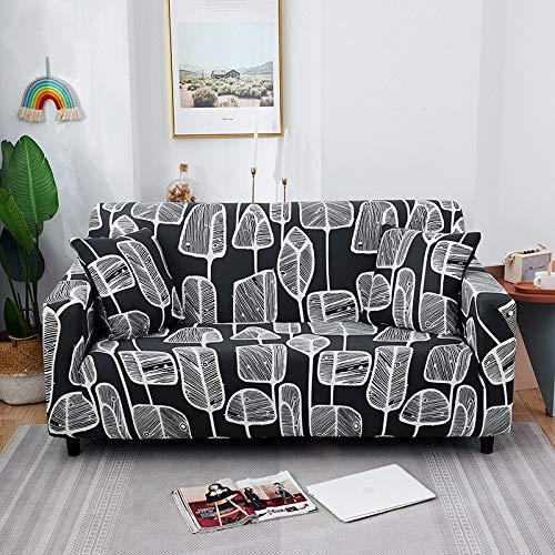 ASCV Strech Sofa Schonbezüge Elastische Sofabezüge für Wohnzimmer All-Inclusive rutschfeste Couchbezug L Form Ecke A17 3-Sitzer