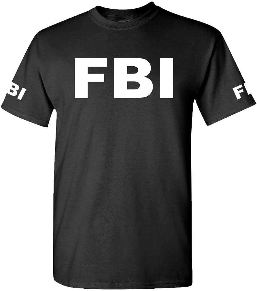 The Goozler FBI - Federal Bureau Investigation Duty - Mens Cotton T-Shirt