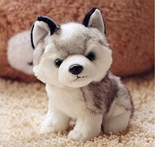 knuffels mooie pluche hond Siberische husky zachte knuffel puppy speelgoed poppen home decor verjaardagscadeautjes