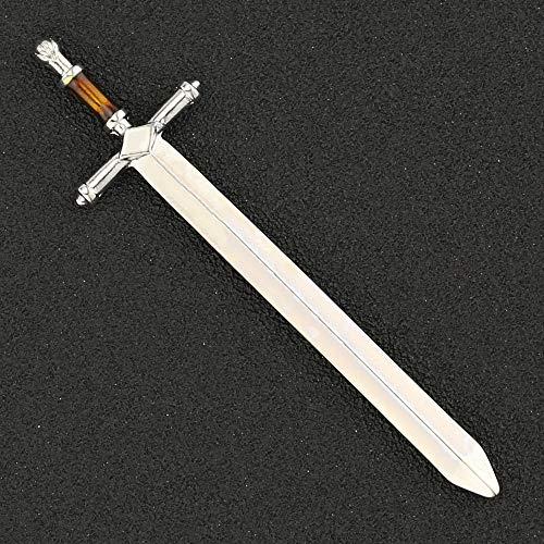 YUNMENG Espada Vintage Antiguo Color Plateado abrecartas Stark Lannister Espada Canción de...