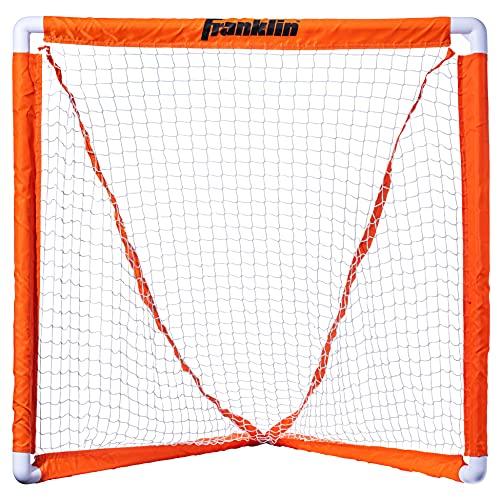 Franklin Sports Youth Lacrosse Goal - Small Kids Lacrosse Net - Portable Lax Mini Box Goal -...