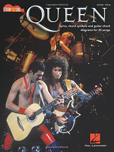 Queen: Strum & Sing -For Guitar- (Guitar Book): Songbook für Gitarre (Strum & Sing Guitar)
