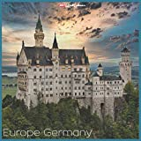 Europe Germany 2021 Wall Calendar: Official Europe Germany Calendar 2021, 18 Months