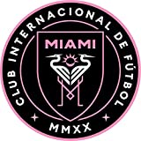 Miami Decal Soccer Team Sticker for laptops & Cars