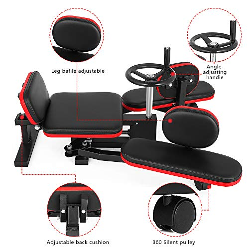 Product Image 3: Weanas Pro Leg Stretcher Machine 330LBS Leg Stretch Training Heavy Duty Stretching Machine Gym Gear Fitness Equipment