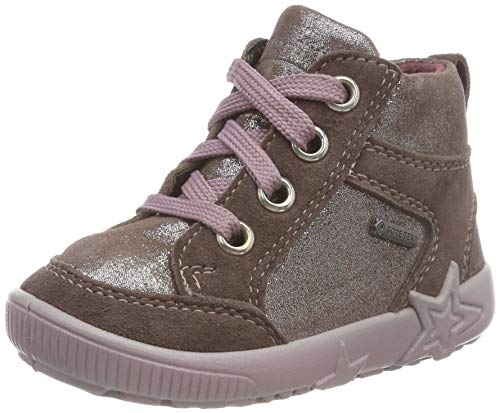 Superfit Baby Mädchen Starlight Sneaker, Braun (Lila 90), 19 EU
