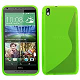SAMRICK S Wave Hydro Gel Protective Case for HTC Desire 816 - Green
