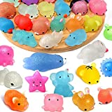 40Pcs Glitter Mochi Squishy Toys,Glitter Squishy Toys...