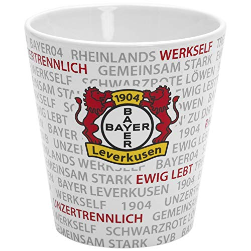 Bayer 04 Leverkusen Kaffeebecher Tasse Wording