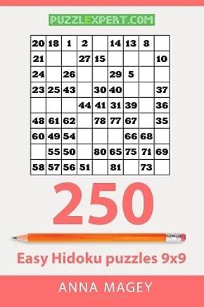 250 Easy Hidoku puzzles 9x9: Volume 2