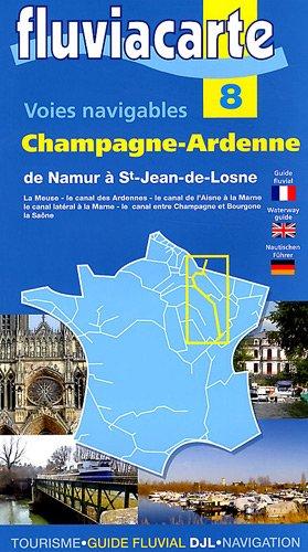 Fluviacarte 08 Champagne Ardenne: Nautischer Führer