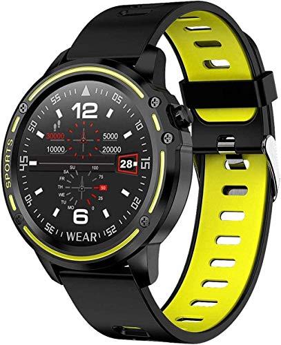 JSL Podómetros para caminar reloj inteligente para mujeres hombres Hr Fitness Tracker Bluetooth cámara deportiva Monitores de presión arterial