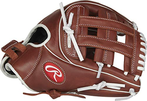 Rawlings R9 Series Fastpitch Softball Glove, Pro H Web, 11.75 inch, Right Hand Throw