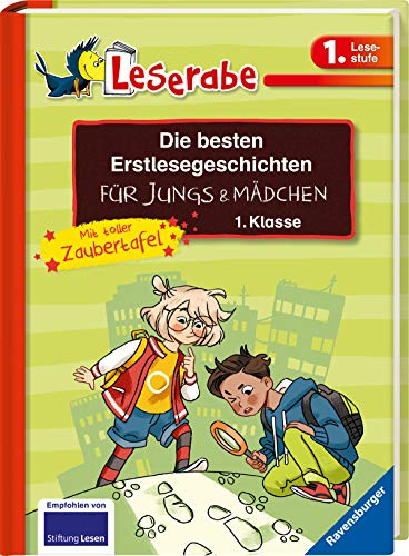 Die besten Erstlesegeschichten für Jungs und Mädchen 1. Klasse mit toller Zaubertafel (Leserabe - Sonderausgaben)