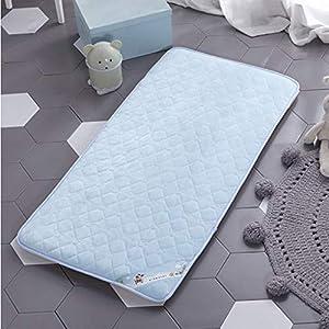 MO&SU Crib Mattress, Mattress Pad Topper Child Nursery Mat Floor Tatami Mat Safety Mattress for Baby