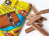 不二家 黒いホームパイのみみ チョコ味 36gx10 袋
