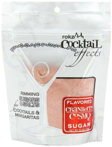 Rokz Cranberry Cosmo Cocktail Sugar, 5 Ounce