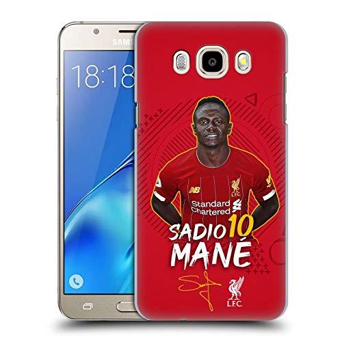 Head Case Designs Oficial Liverpool Football Club Sadio Mané 2019/20 Primer Equipo Grupo 1 Carcasa rígida Compatible con Samsung Galaxy J5 (2016)